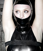 Medical straitjacket and latex bondage